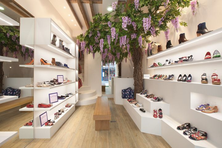 Retail Design | Footware | Store Design | Shop Interiors | C PETULA shoe store, Paris
