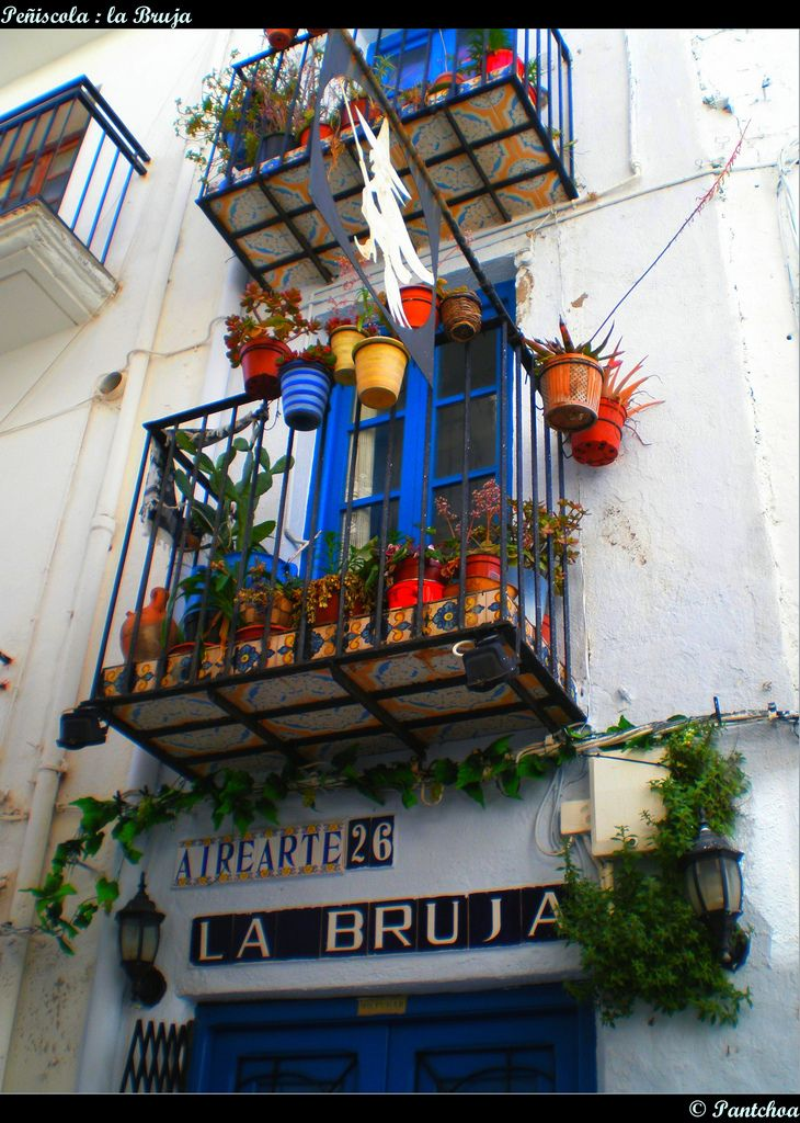 Casa de la Bruja - Peñiscola | Flickr - Photo Sharing!