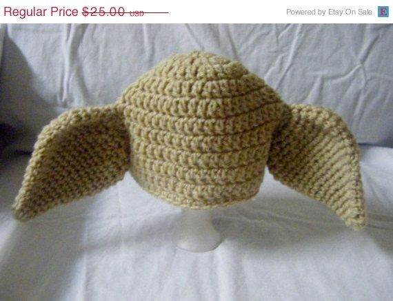 Christmas Sale Dobby inspired Harry Potter Crocheted Baby Hat