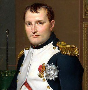 Portrait of Napoleon Bonaparte, (August 1769-05 May 1821), a French military & political leader who rose to prominence during the latter stages of the French Revolution. As Napoleon I, he was Emperor of the French from 1804 to 1815. His legal reform, the Napoleonic Code, has been a major influence on many civil law jurisdictions worldwide, but he is best remembered for his role in the wars led against France by a series of coalitions, the so-called Napoleonic Wars.