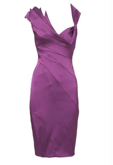 Cocktail Dresses | Karen Millen purple cocktail dress - Loud and proud - brighten up your ...