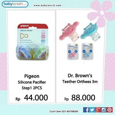 Gunakan pacifier yang aman bagi pertumbuhan rahang dan gigi anak Anda.  Babylonish
