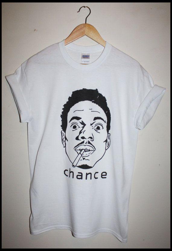 neuf chance le rappeur t-shirt acid rap hip-hop par damilkshop
