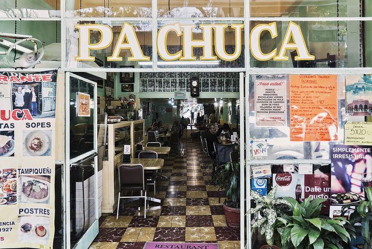 PACHUCA - An old restaurant, on Santa Maria la Rivera, CDMX