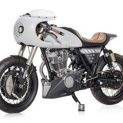 Yamaha SR400 cafe racer. Ágil y rápida se apellida esta preparación de Portugal