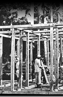 The top rung of the educational ladder was the carpentry school in Palau.  The few students chosen to attend were given the theory of the trades and hands-on training.  The carpentry school graduated only ten a year, most of whom found jobs with the government