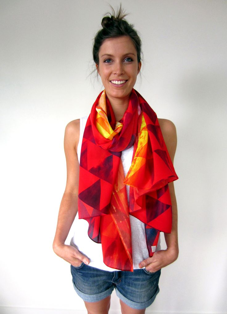 Sunsets in the West scarf #fashion #scarves #colours #summer #sunsets #australia #slaterplace
