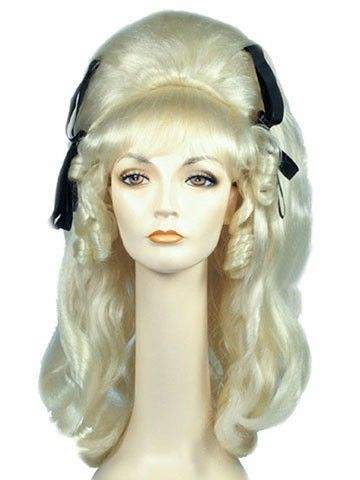 60s-Rock-A-Billy-Vamp-Beehive-with-Bows-Cramps-Lacey-Costume-Wig