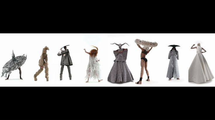 Megalith The first in a trio of films showing Gareth Pugh's S/S 15 collection, 'Megalith' presents characters traditionally found in British folklore
