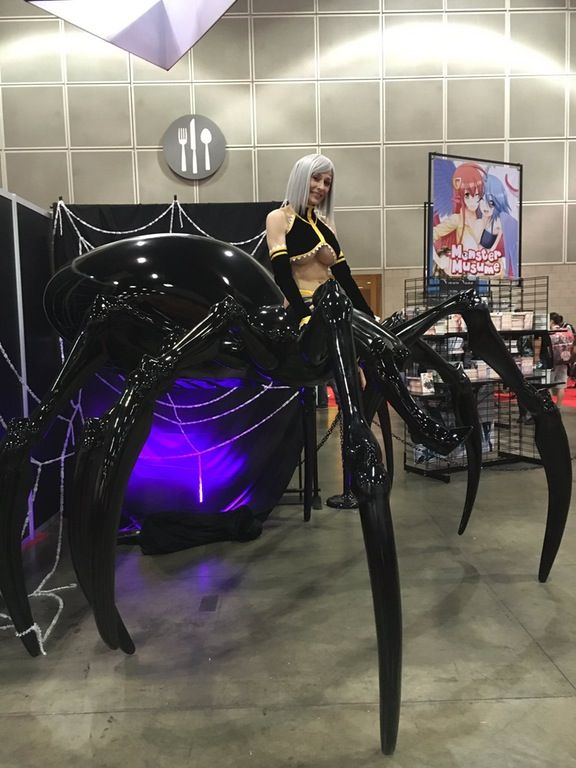 monster musume spider