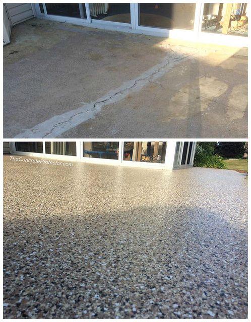 Decorative Concrete Pictures Concrete Patio Makeover Patio