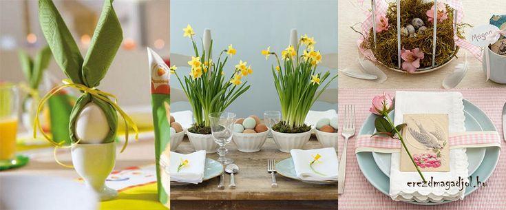 Húsvéti asztal dekoráció – hangulatos húsvéti ötletek