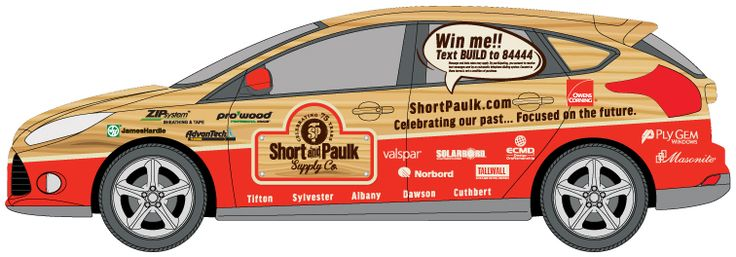 COOL CAR WRAP: Check out the text message sweepstakes being used by Short & Paulk using our 84444 short code.