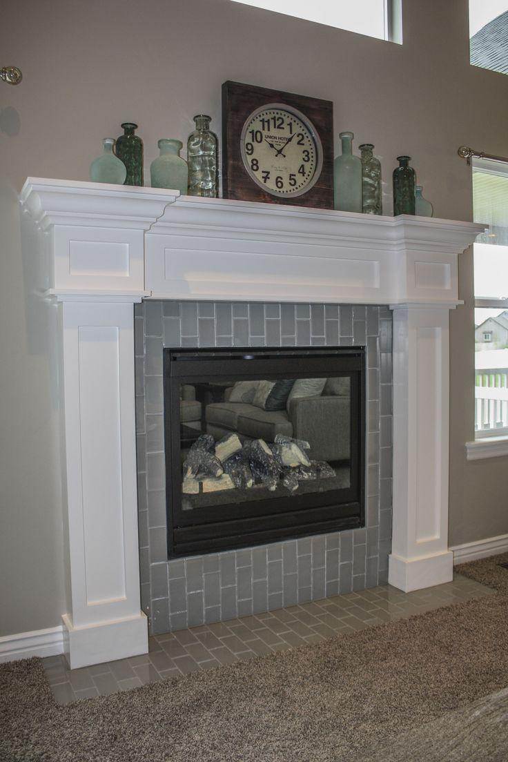 Craftsman style fireplace craftsman encore plan for Craftsman gas fireplace