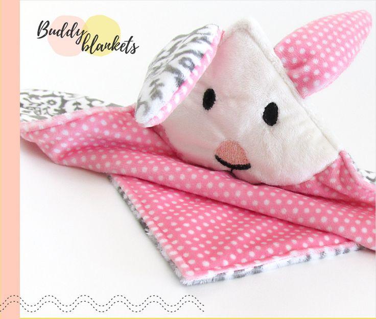 Animal Buddy Blankets: Shannon Fabrics Cuddle Luxury Fleece