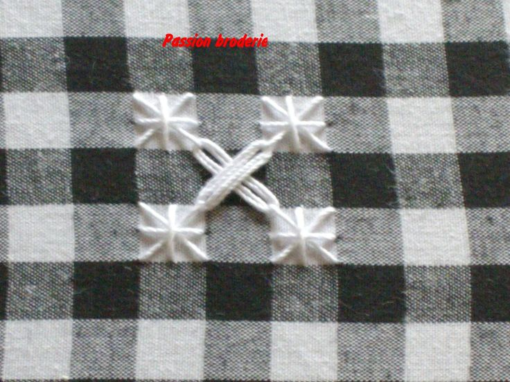 """lecons de points """"la broderie suisse"""" - Passion broderie"""