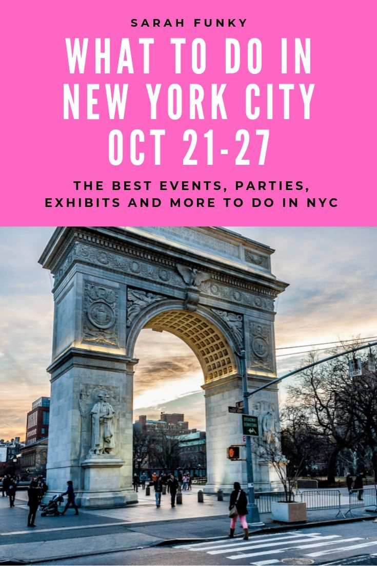 As Always There Are Lots Of New And Exciting Things Going On In Nyc Especially As It Is October Which Means Fall Colors Nyc Nyc Guide Best Places To Vacation