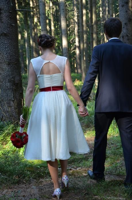 Retro svatební šaty 50. léta, 37