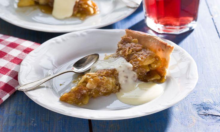 Ljuvlig äppelkaka med tosca