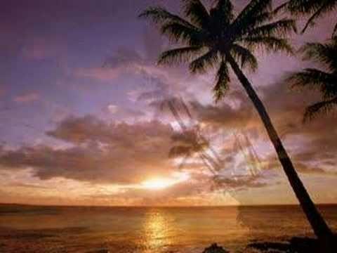 On the beach (En la playa), sung by Chris Rea