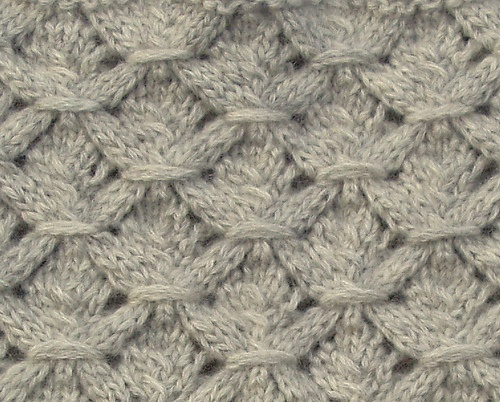 Knitting Quilted Lattice Stitch : Best images about wrap stitch quilting trellis