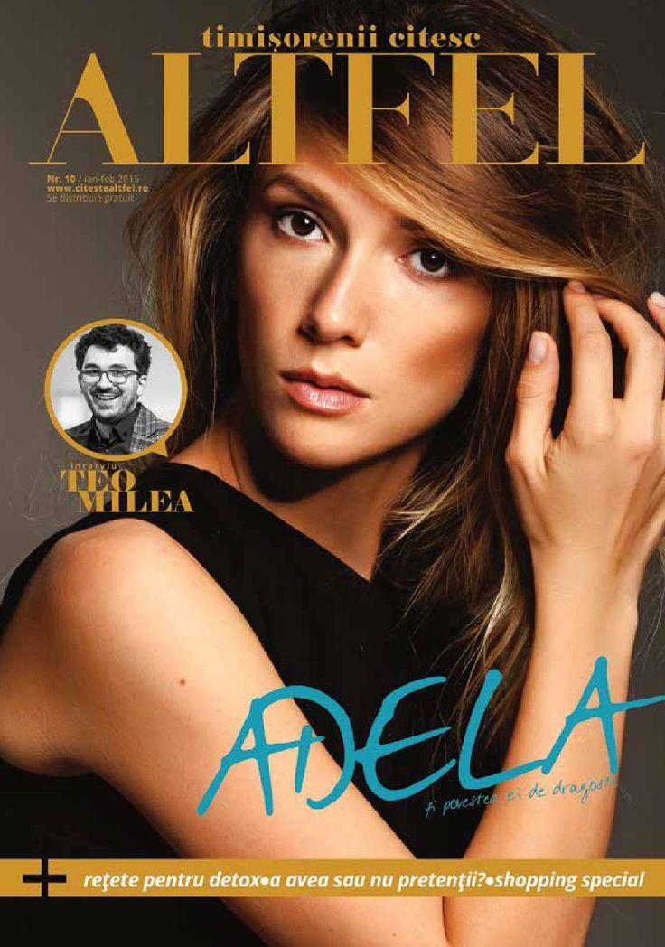Revista Altfel January - February 2015, Altfel magazine