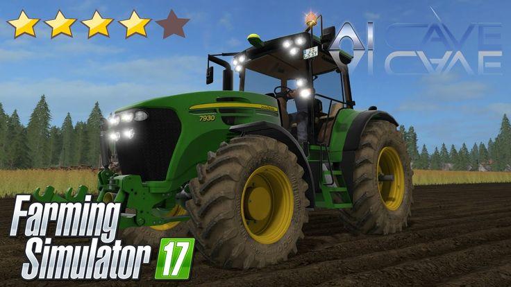 Farming Simulator 17 Mods - Tractor John Deere 7×30 (7730, 7830, 7930)