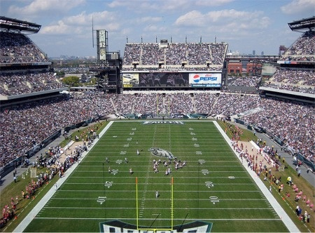 Lincoln Financial Field, Home of the Phila. Eagles