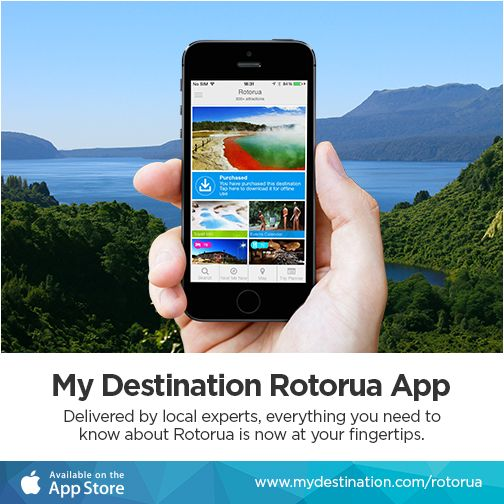 https://itunes.apple.com/app/id959982089 Tap into specialist local tips and keep up-to-date with what to see and do in #Rotorua - now available to download from the Apple App Store. #newzealand