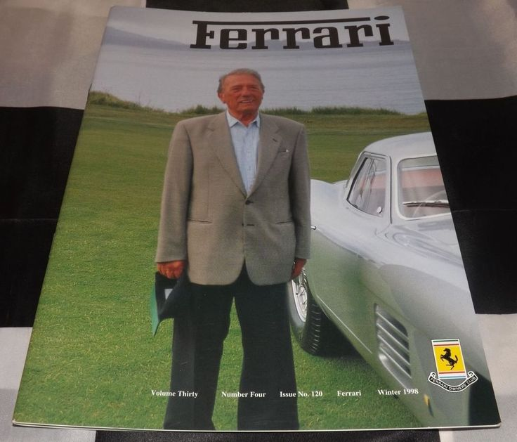 FERRARI OWNERS CLUB MAGAZINE WINTER 1998 NO 120 DINO 308 GT4 MODULO PININFARINA