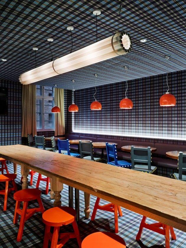 Interior design decoration restaurant design generator london by the designagency
