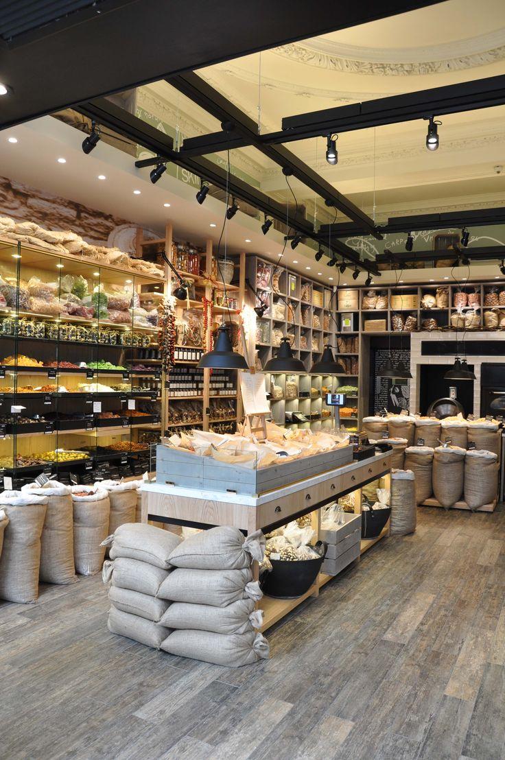 carpo London  coffee nuts chocolate PALY architects Lykoudis Papaspiliopoulou