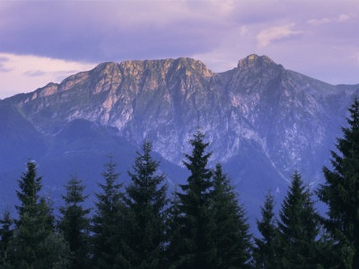 Mount Giewont and Zakopane, Tatra Mountains, Poland, Europe