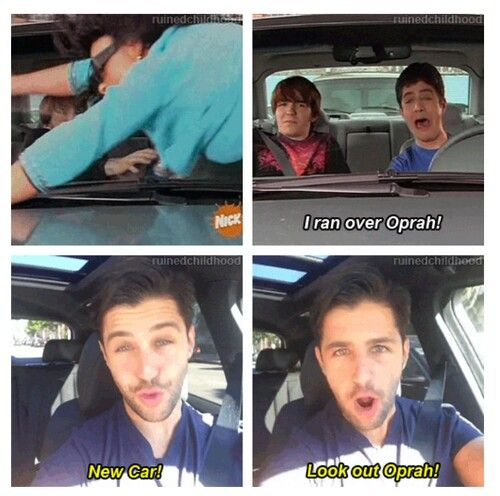 Josh Peck New Car Watch Out Oprah