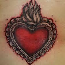 Risultati immagini per tatuaggio sacro cuore
