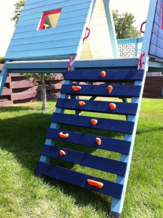 Best 25 play sets ideas on pinterest outdoor play for Diy play structures backyard