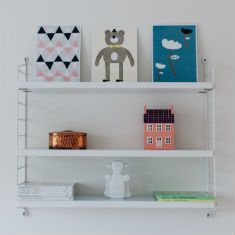 Just another one of those shelfies... Postcards from Walnut & Walrus.