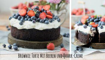 Blaubeer Joghurt Törtchen - No Bake - Das Knusperstübchen