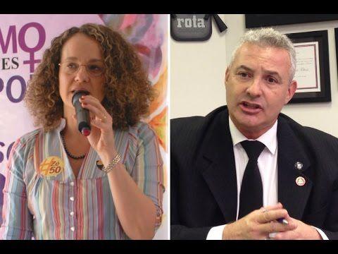Luciana Genro e Coronel Telhada discutem redução da maioridade penal - YouTube