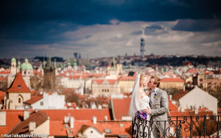 Wedding in Prague — Liza