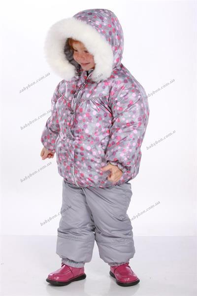 Зимние модные костюмы для девочек