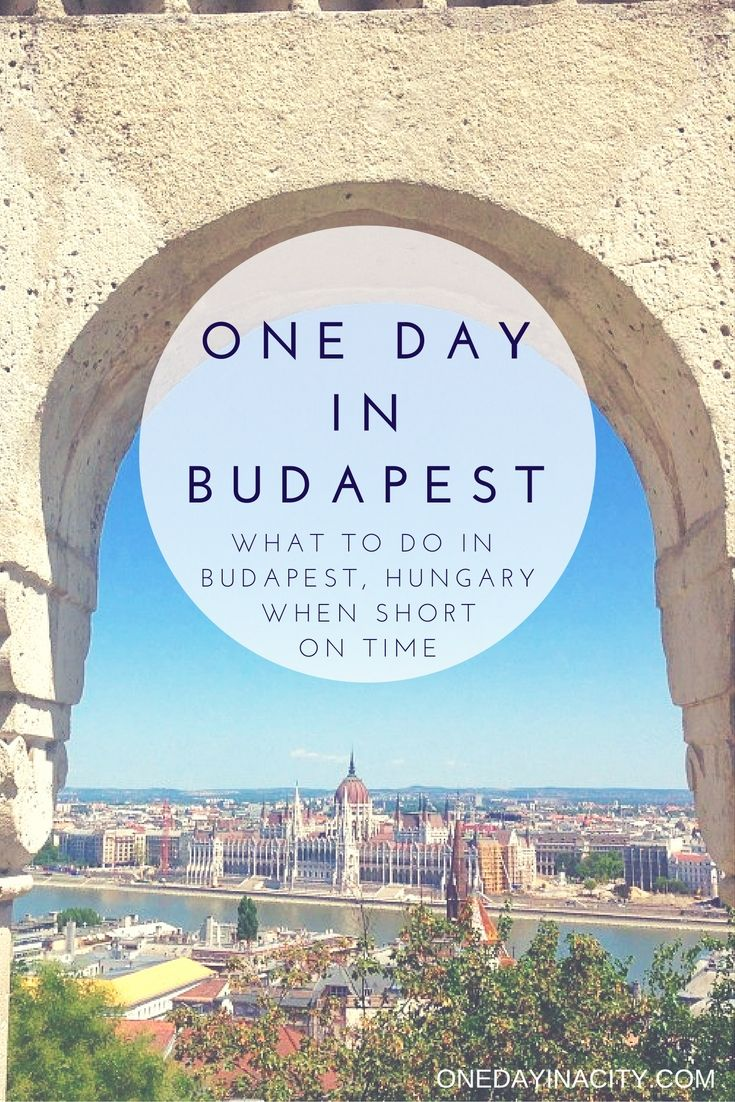 Travel tips on what to see, do, and eat when short on time in Budapest, Hungary. (Great for river cruisers and other travelers to Budapest!)