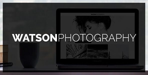 Watson v1.2.4 – Photography WordPress Theme: Watson is an advanced WordPress theme that is basically designed and developed especially for portfolio, photography and other creative website. It is fully responsive theme with countless portfolio galleries which let you to intensify your galleries in amazing manner and embed dynamic background colors in it.