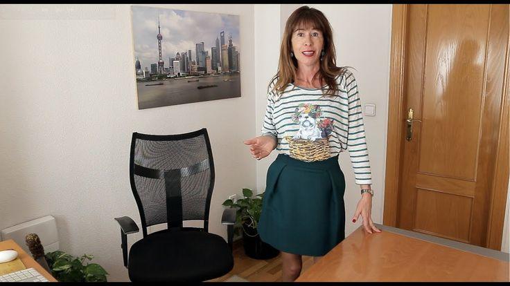 Luisa Alcalde: Apúntate a la minifalda