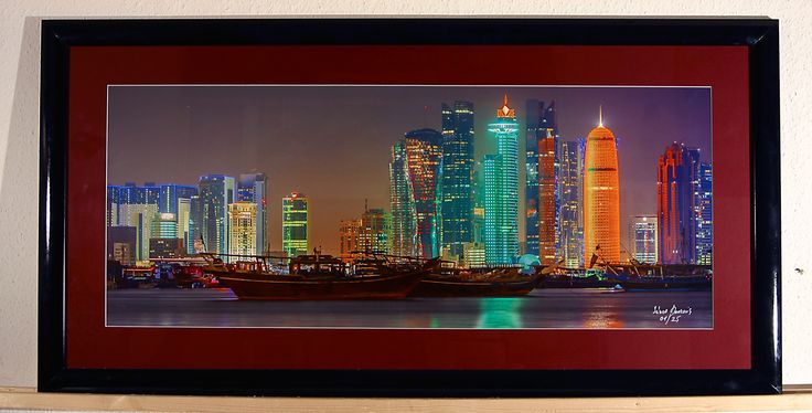 #janosdevcsics #fineartphotography #doha #city #quatar #framedpictures #interiordesign #landscape