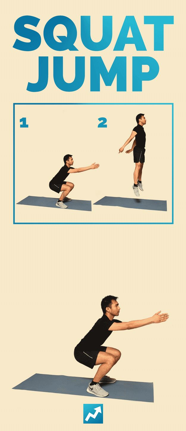 Squat Jump | The Only 12 Exercises You Need To Know To Get In Shape