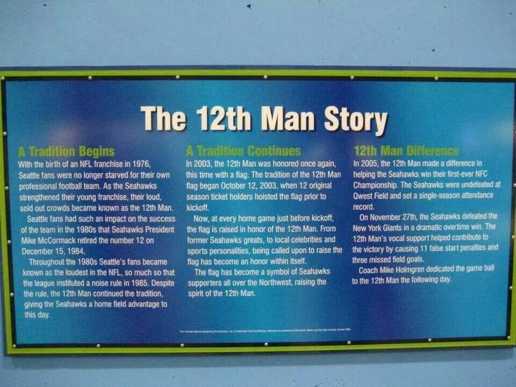 The 12'th Man Story