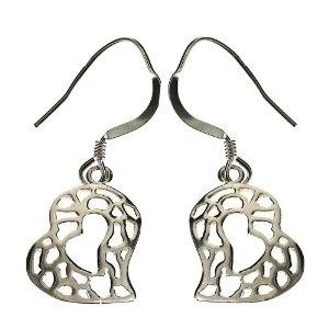 Paire de boucles d'oreilles design en Argent - Bijoux uniques: ShalinCraft: Amazon.fr: Bijoux