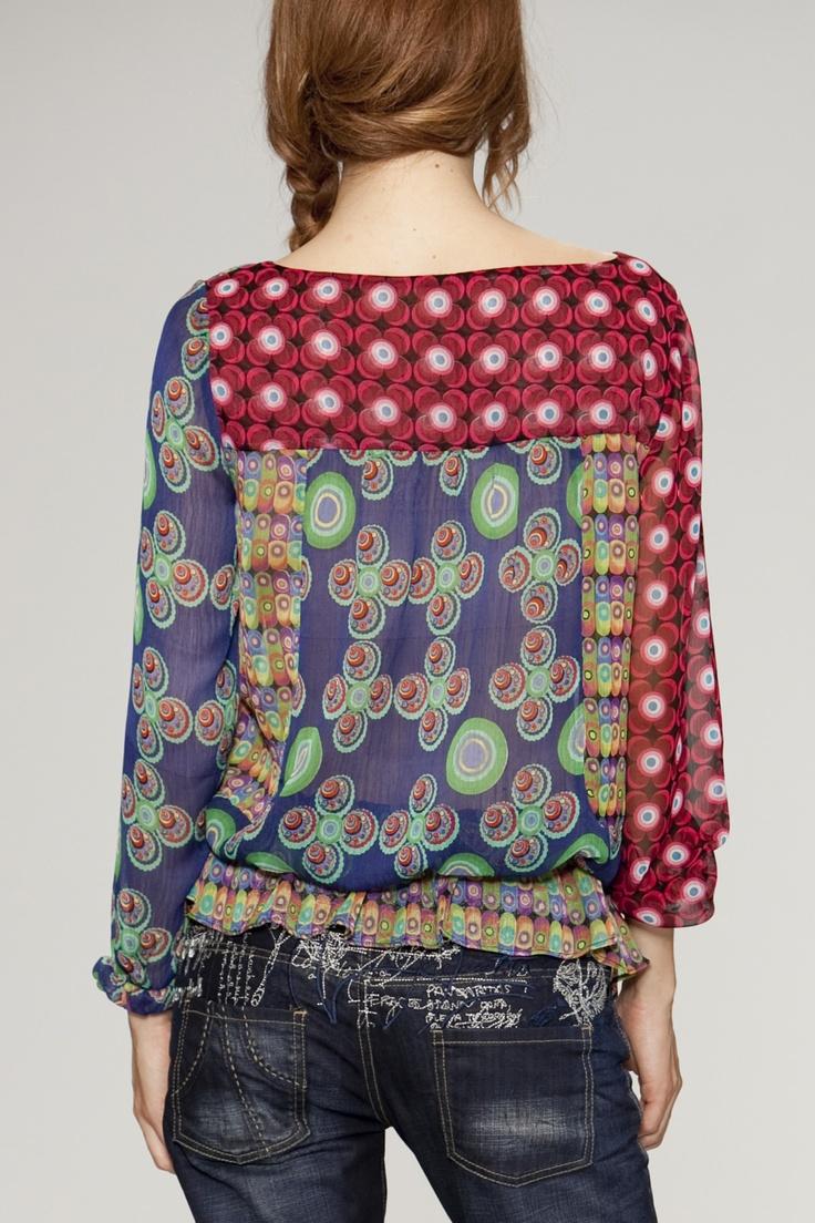 Desigual #patterns #blouse