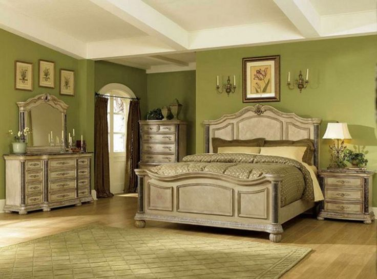 Lovable Bedroom Ideas With Retro Furniture Design Combine And Lime Green  Schemed With Classic Style Mirror
